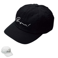 [RyuRyu] Front Embroidered Low Cap  /SALE