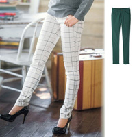 [RyuRyu] Beautiful Line Super Stretch Pants w/Fleece Lining  /SALE