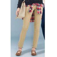 [RyuRyu] Shirt Wrap Over Style 2-Way Skinny Pants  /SALE