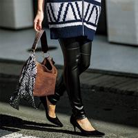 [RyuRyu] Paneled Design Leggings  /SALE