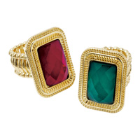 [Ranan] [Abiste] Color Accessory Ring / Fall & Winter 2018 New Item, Ladies'