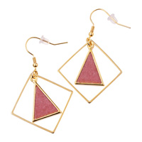 [Ranan] [Abiste] Color Accessory Earrings / Fall & Winter 2018 New Item, Ladies'