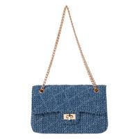 [Ranan] Chain Shoulder Denim Bag / Fall & Winter 2018 New Item, Ladies'