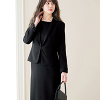 [Ranan] Shawl Collar Jacket 2-Piece Suit Set / Fall & Winter 2018 New Item, Ladies'