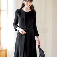 [Ranan] Satin Paneled Dress / Fall & Winter 2018 New Item, Ladies'