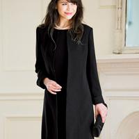 [Ranan] Coat -Style Dress Suit Set / Fall & Winter 2018 New Item, Ladies'