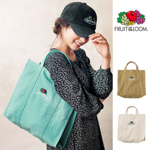 [Ranan] [Fruit of the Loom] Canvas Tote Bag / New Arrival Spring 2020, Ladies