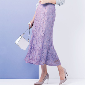 [Ranan] Total Lace Mermaid Skirt / New Arrival Spring 2020, Ladies