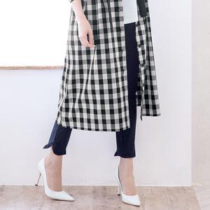 [Ranan] Hem Ruffle Stretch Pants / New Arrival Spring 2020, Ladies