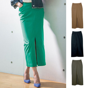 [Ranan] Chino-like Long Tight Skirt / New Arrival Spring 2020, Ladies