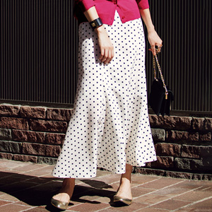 [Ranan] Dots Mermaid Long Skirt / New Arrival Spring 2020, Ladies