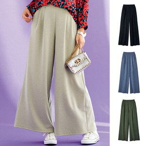 [Ranan] Knit Flare Gaucho Pants / New Arrival Spring 2020, Ladies