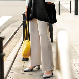 [Ranan] Rib Cut & Sewn Wide Pants / New Arrival Spring 2020, Ladies
