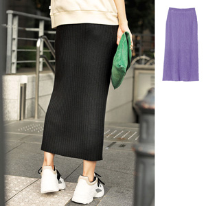 [Ranan] Ribbed Long Tight Skirt / New Arrival Spring 2020, Ladies