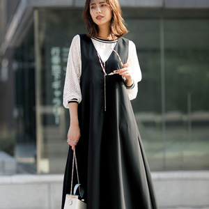 [Ranan] Front Fastener Jumper Skirt / New Arrival Spring 2020, Ladies