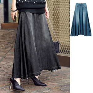 [Ranan] Denim Maxi Skirt / New Arrival Spring 2020, Ladie