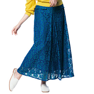 [Ranan] Lace Long Flare Skirt / New Arrival Spring 2020, Ladies