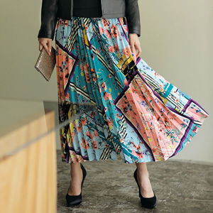 [Ranan] Panel Pleated Long Skirt / New Arrival Spring 2020, Ladies