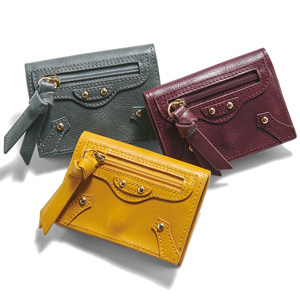 [Ranan] Open up! Fastener Design Coin Purse / New Arrival Spring 2020, Ladies