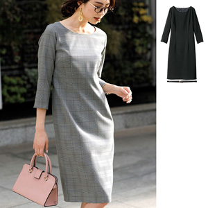 [Ranan] Washable! Tight Dress with Belt / 2020 Spring Lineup, Ladies