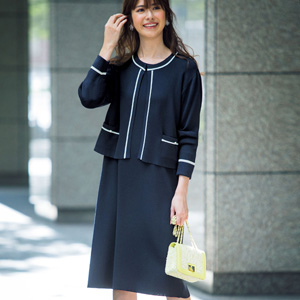 [Ranan] Beautiful Knit Dress Suit Set / New Arrival Spring 2020, Ladies