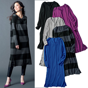 [Ranan] No Hairballs! Mochimochi Knit Dress / 2020 Spring Lineup, Ladies
