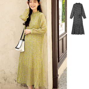 [Ranan] High Neck Pleated Dress / New Arrival Spring 2020, Ladies