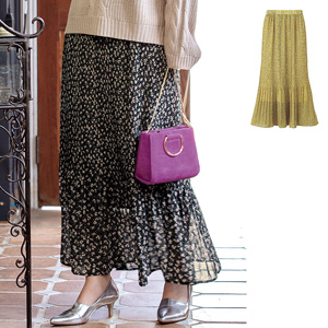 [Ranan] Printed Pleated Skirt / New Arrival Spring 2020, Ladies