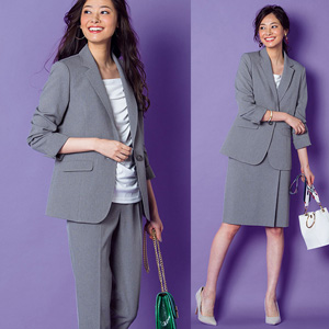 [Ranan] Stretchable 360 Degrees Easily! Washable! Anti-Wrinkle 4-Item Suit/ 2020 Spring Lineup