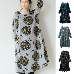 [Ranan] Slightly Fleeced Flare Dress (Regular Length) / 2020 Spring Lineup, Ladies