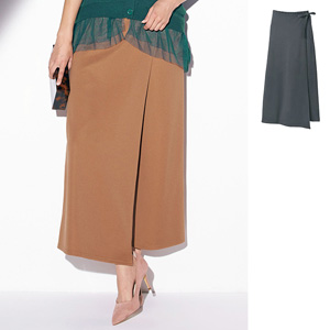 [Ranan] Rolled Skirt Style Wide Pants / New Arrival Spring 2020, Ladies