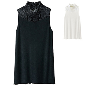 [Ranan] Lace Neck Tank Top / New Arrival Spring 2020, Ladies