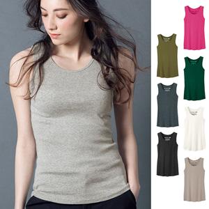[Ranan] 100% Cotton Soft Tank Top (Regular Length) / 2020 Spring Lineup, Ladies