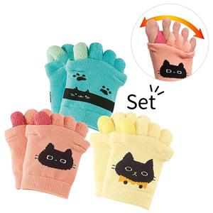 [Belluna] [3 Pairs] Cat Toe Stretcher / 2020 Spring Lineup, Inner