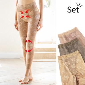 [Belluna] Knee Pleasure Long Spandex 3-Color Set / 2020 Spring Lineup, Inner