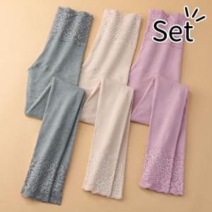 [Belluna] 100% Cotton Comfort Warm Bottom (3 pack) / New Arrival Spring 2020, Inner
