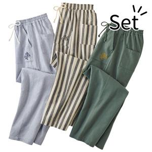 [Belluna] 100% Cotton Stylish Room Pants (3 pack) / New Arrival Spring 2020, Inner