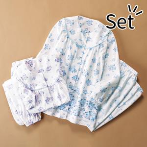 [Belluna] Panel Print Comfort Pajamas (2 pairs) / New Arrival Spring 2020, Inner