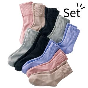 [Belluna] Skin-friendly Pineapple Socks (10 pairs) / New Arrival Spring 2020, Inner