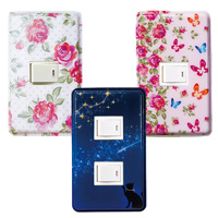 [RyuRyu] Just Snap It On! Easy Light Switch Cover 2-Pack / 2018 Fall & Winter Lineup, Interior