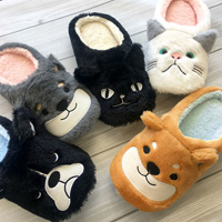 [RyuRyu] Cute Character Fluffy Room Shoes / Fall & Winter 2018 New Item, Interior