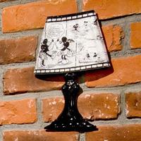 [RyuRyu] Wall Lamp Stickers  (Mickey & Minnie) / Fall & Winter 2018 New Item, Interior