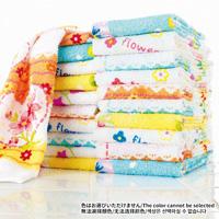 [Belluna] Great Value Floral Pattern Print Towel / Fall & Winter 2018 New Item, Interior
