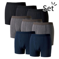 [Belluna] Anti-Bacterial/Deodorant Boxer Pants For Slight Stains, 8-Pack