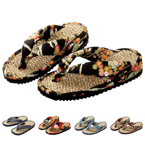 [Belluna] Kyosai Folk Art Rope Sandals