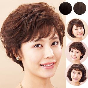 [Belluna] Bargain Full Wig with Human Hair