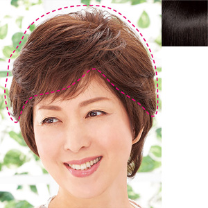 [Belluna] 100% Human Hair 6/10th Type Handmade Wig