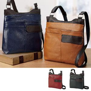 [Belluna] Genuine Leather Shoulder Bag
