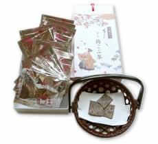 京の梅こぶ茶 小袋 20袋箱入