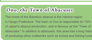 Ono, the Towm of Abacuses
